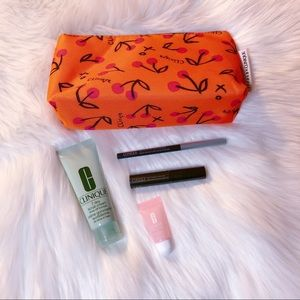 New Clinique Deluxe Sample Travel Size Makeup Set
